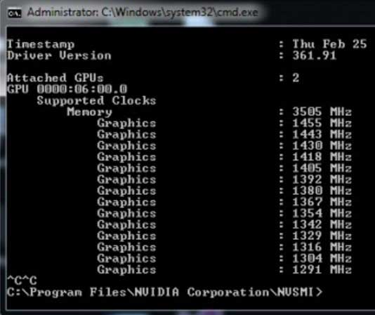 The program for mining on the map nvidia  How to squeeze extra