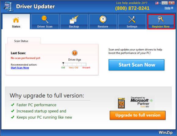 auslogics driver updater serial